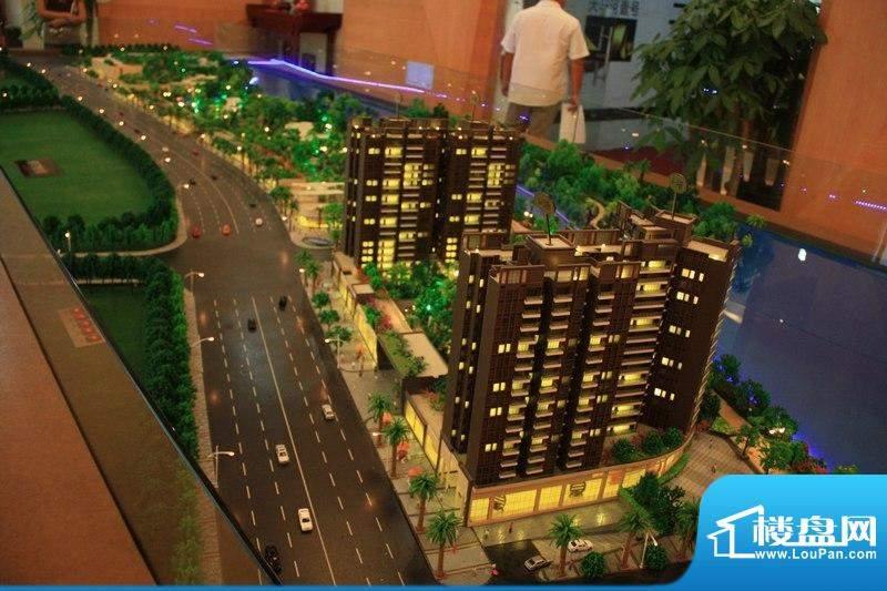 天马河壹号2期·帝景湾沙盘模型(20110