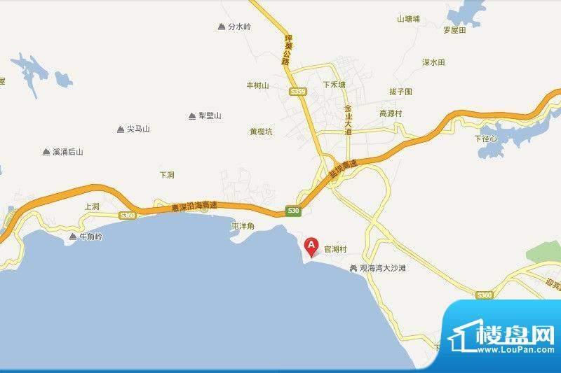 莱蒙水榭蓝湾项目交通图