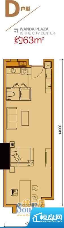 番禺万达广场SOHO公面积:0.00平米