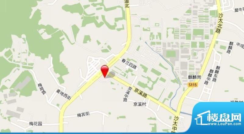 君华香柏广场实景图