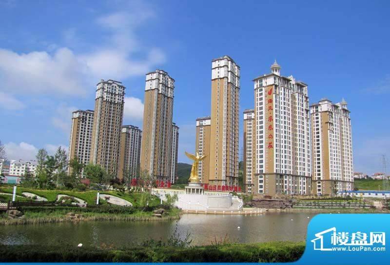 凤凰山庄小区实景拍摄20120829