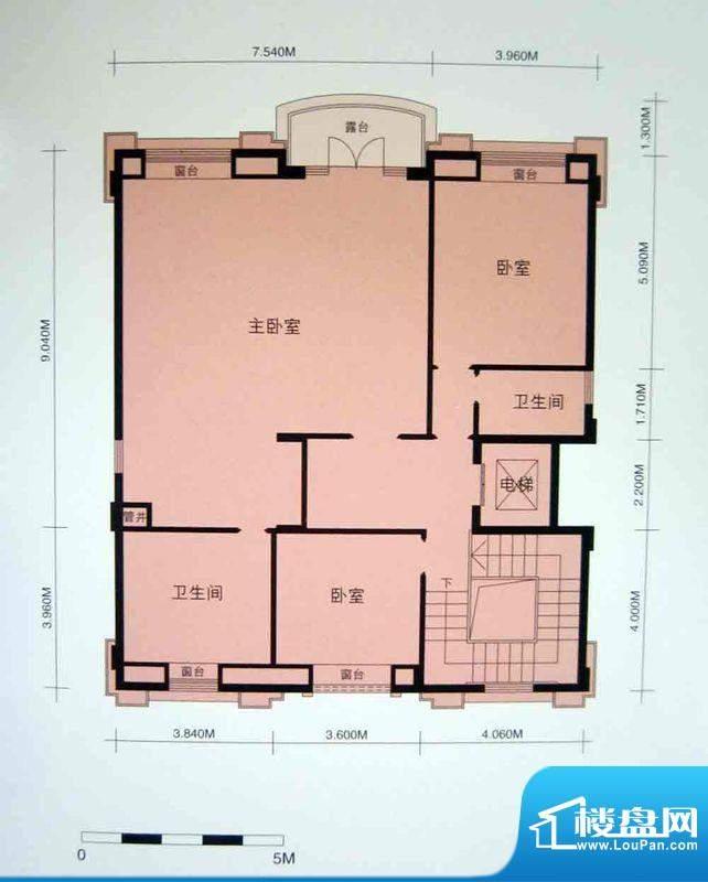 御湖名邸红菁街1-43面积:430.00平米