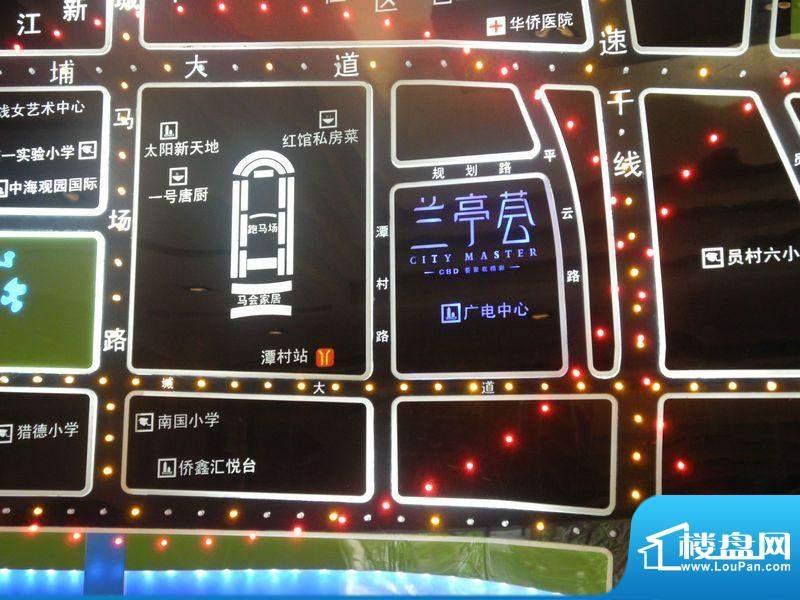 兰亭荟交通图