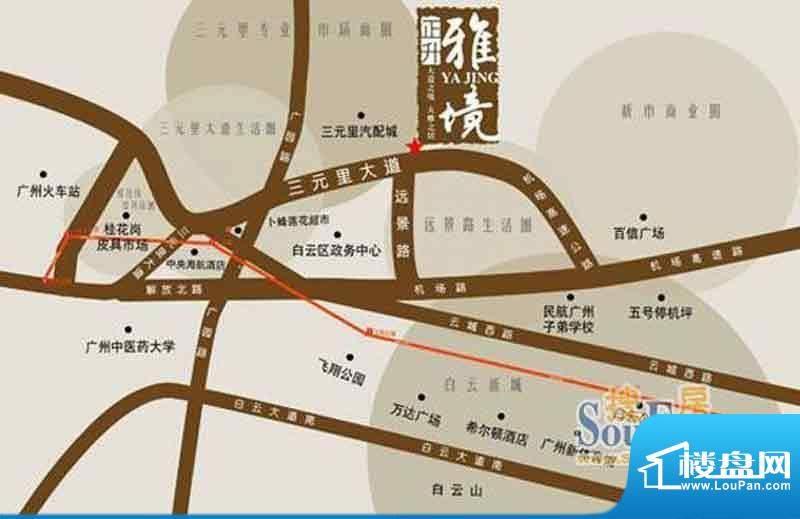 正升·雅境交通图
