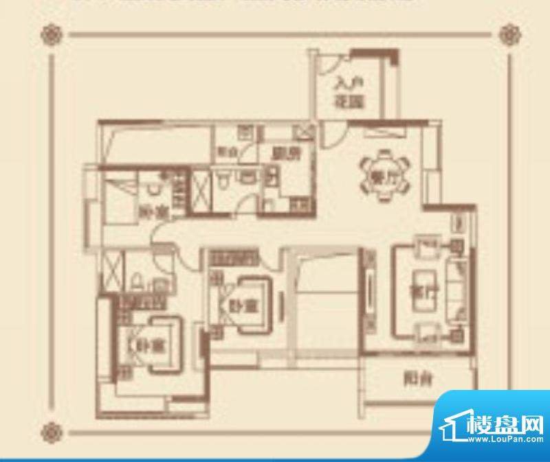 番禺云山诗意A6/A9栋面积:138.00平米