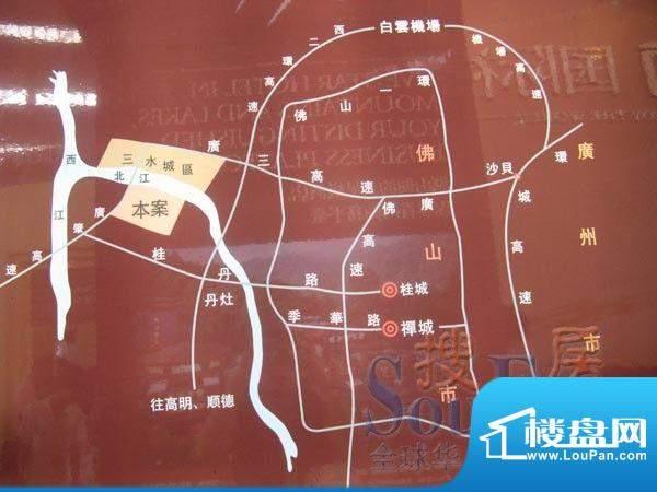 御江南交通图