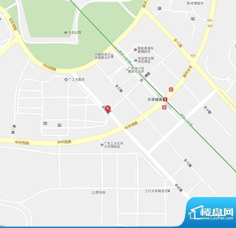 尚轩103交通图