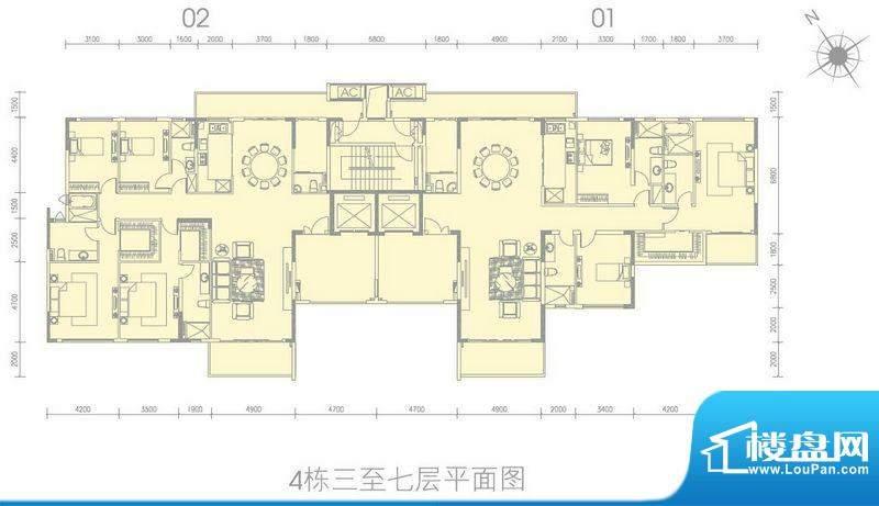 尚轩1034栋标准平层面积:0.00平米