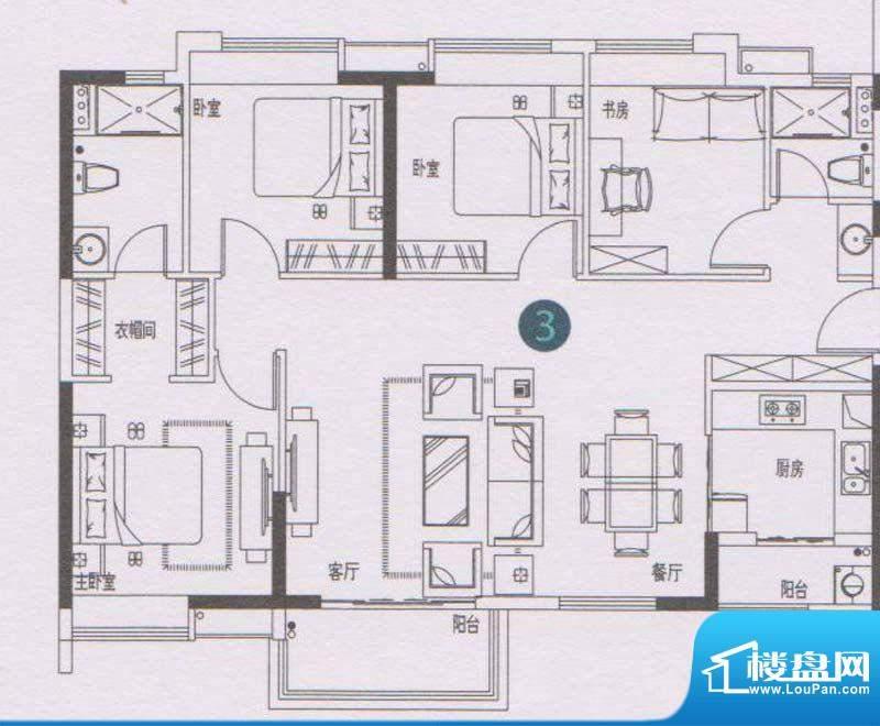 万科东荟城A21/A22栋面积:120.00平米