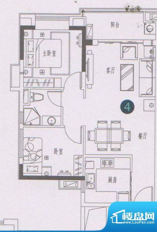 万科东荟城A1/A2栋0面积:75.00平米