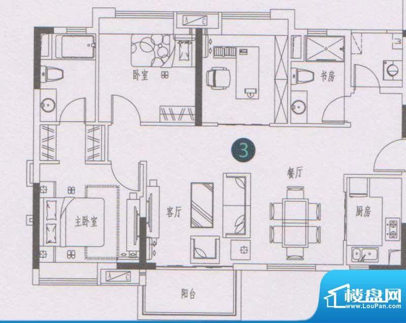 万科东荟城A1/A2栋0面积:100.00平米
