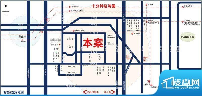 昆山GOHO悦城交通图