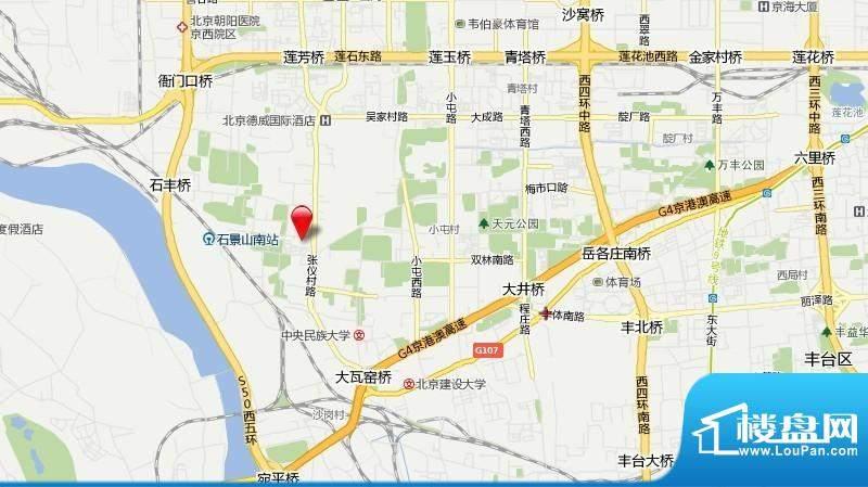 东海仪园交通图
