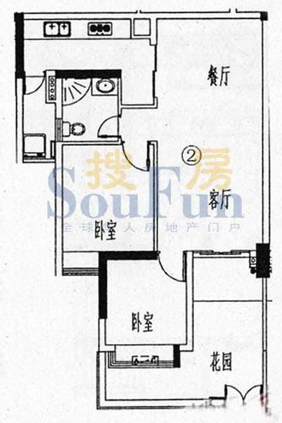 骏御华庭A栋(1-11层面积:80.00平米