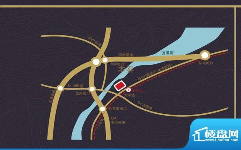 大城云山交通图
