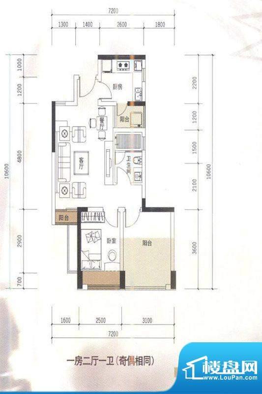 华盛君荟名庭2栋b单面积:0.00平米