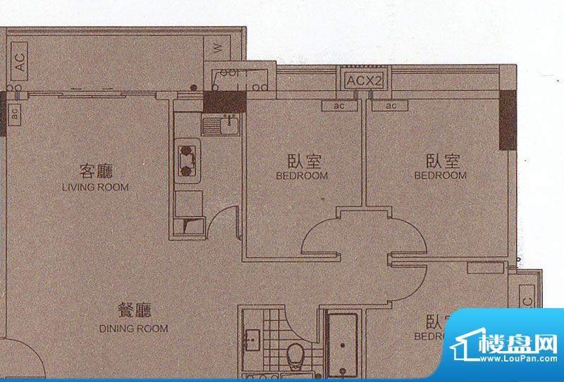颐和四季CBD酒店B2栋面积:101.37平米