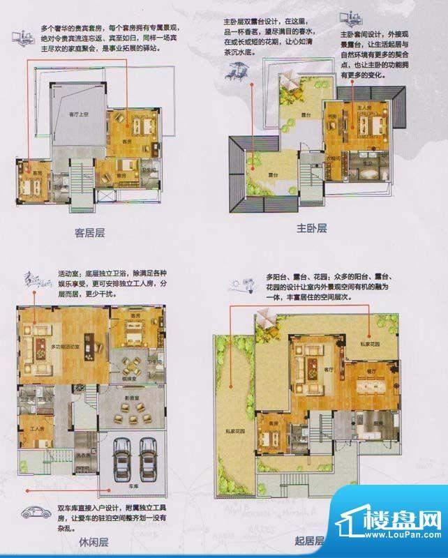 颐和盛世小独栋 7室面积:404.00平米