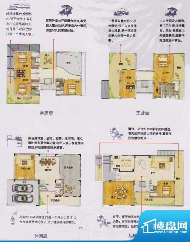 颐和盛世双拼别墅 7面积:494.00平米