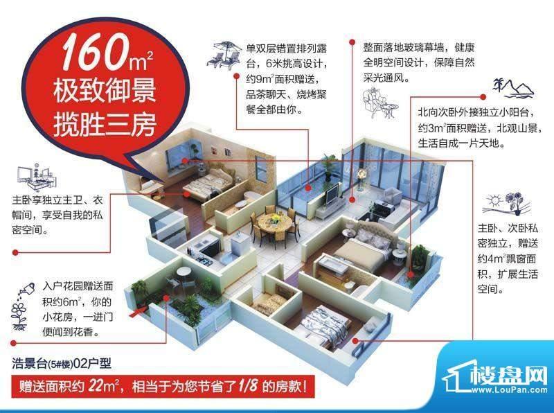 颐和盛世5号楼(浩景面积:160.00平米