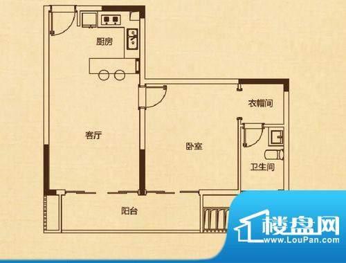 万科兰乔圣菲C1栋02面积:65.00平米