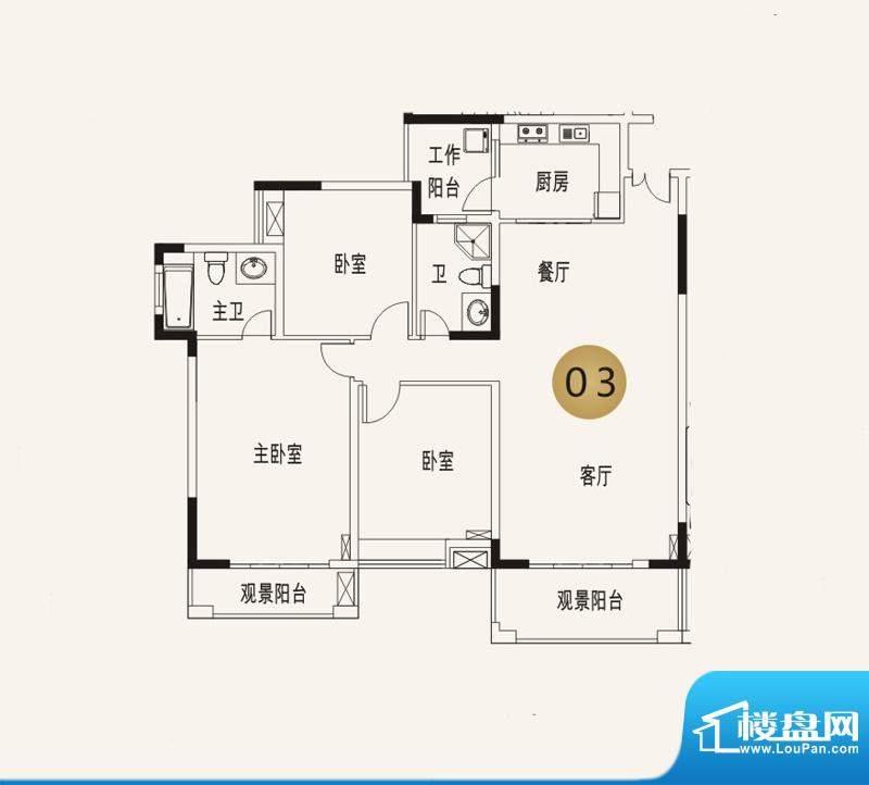 宜家水岸花园13幢6层面积:139.49平米