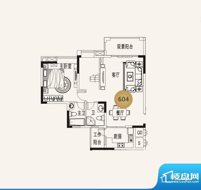宜家水岸花园13幢6层面积:145.92平米