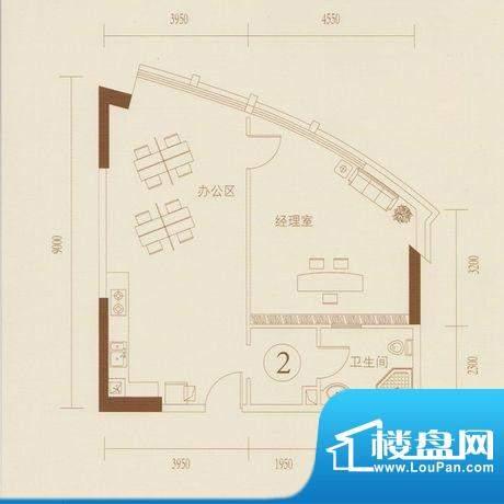 和丰大厦02户型图 1面积:89.02平米