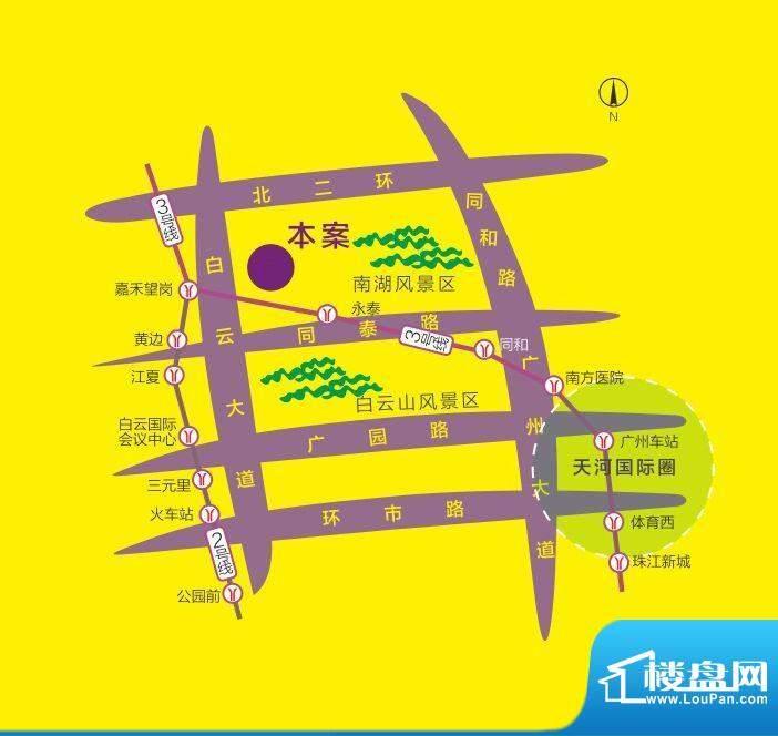 利海·托斯卡纳交通图