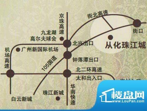 珠江国际城实景图