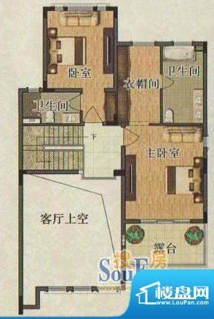 珠江国际城唐宁郡37面积:123.00平米