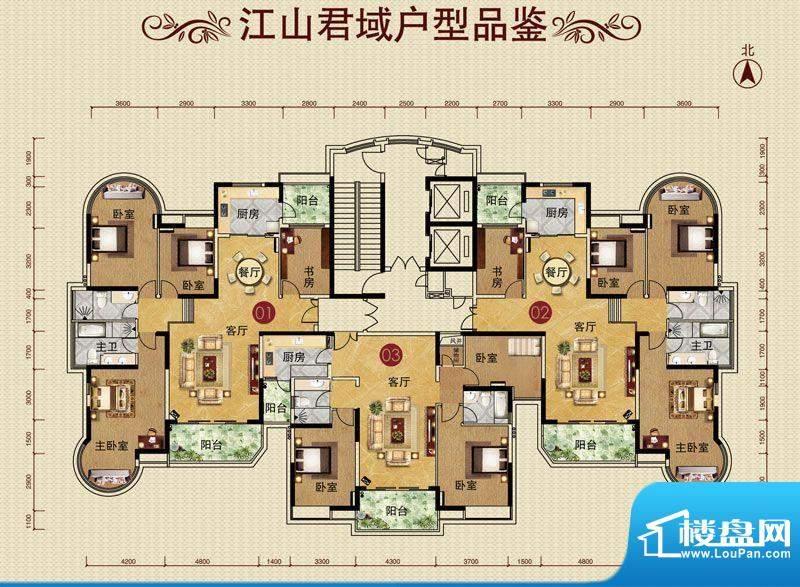 华南新城江山君域楼面积:0.00平米