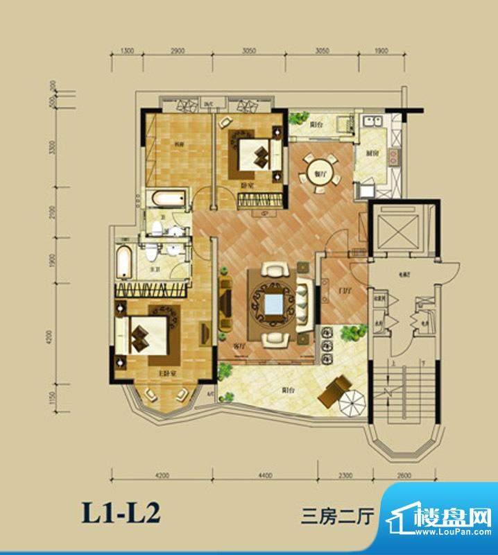 华南新城4-5栋01、0面积:142.00平米