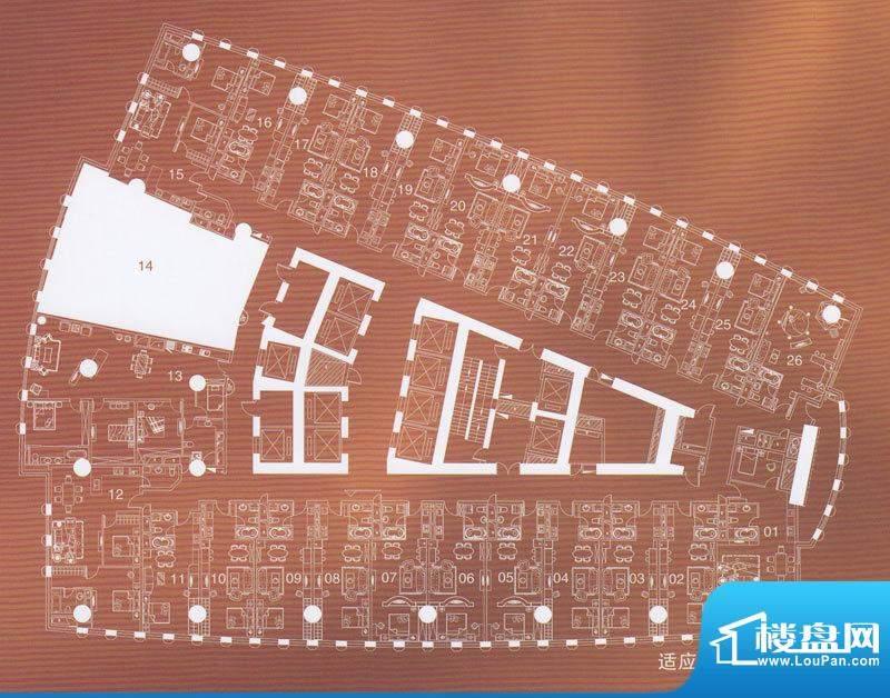 正佳东方国际公寓29面积:0.00平米