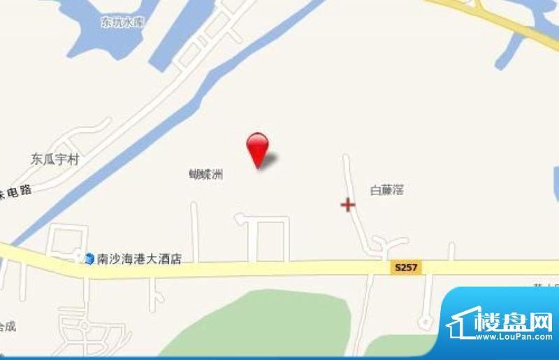 蝴蝶谷交通图