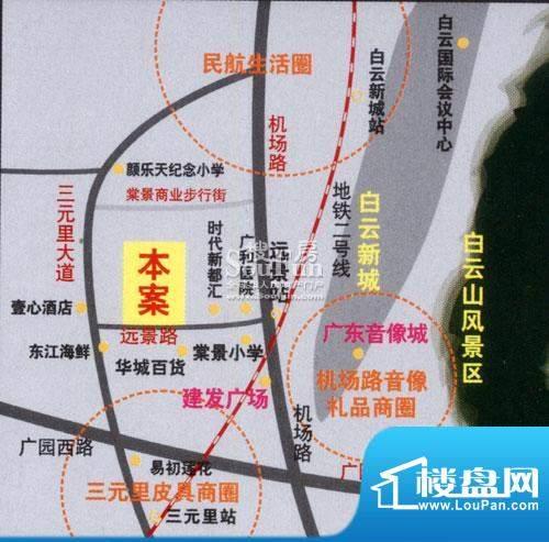 美景国际公寓交通图