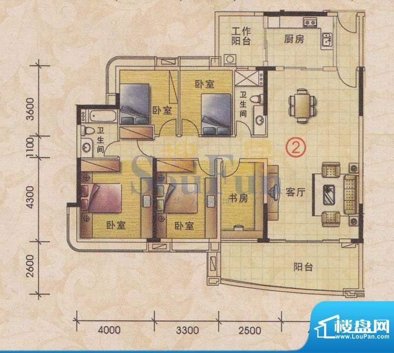 美林轩逸时光B1号楼面积:158.23平米
