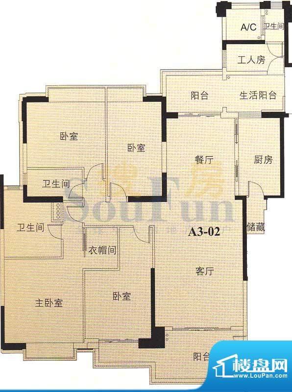 汇景新城龙熹山二期面积:221.41平米