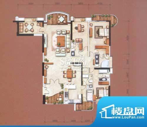 信达阳光海岸277㎡-面积:277.00平米