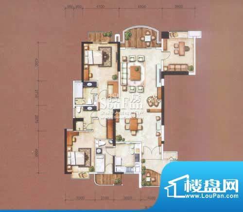 信达阳光海岸206㎡-面积:206.00平米