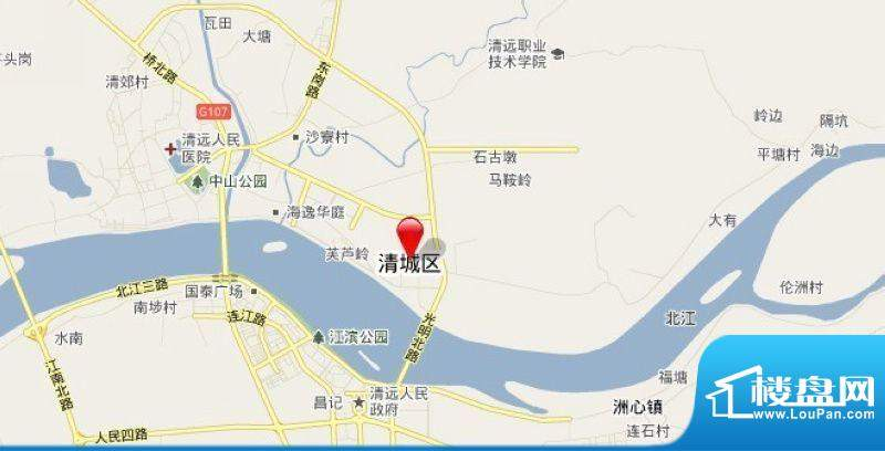 凯景·中央首座交通图