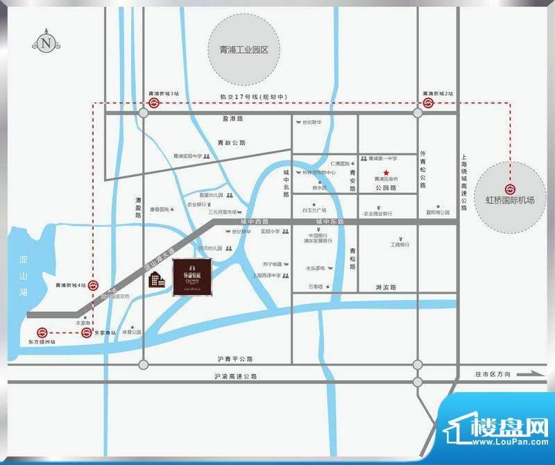 怀盛怡庭交通图