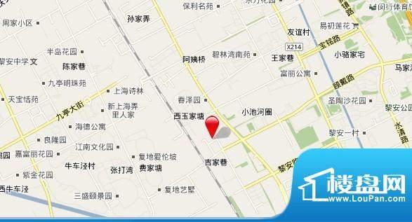 松江区涞亭路1号C地效果图