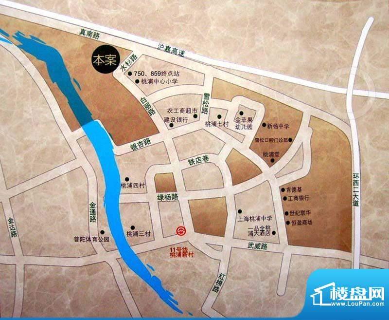逸庭别墅交通图