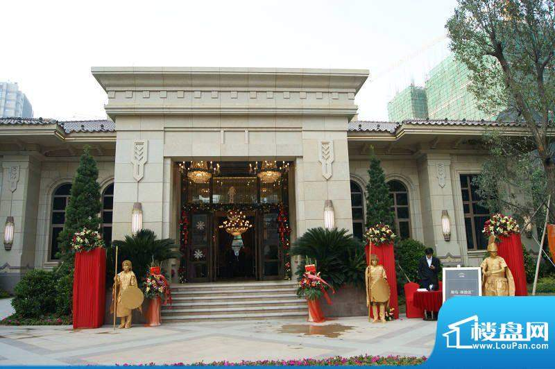 君御旗峰豪园销售中心外景图(2011-12-