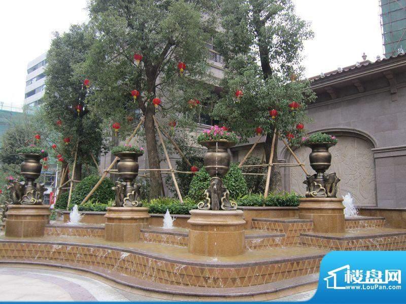 君御旗峰豪园小区实景图(2012-02-09)