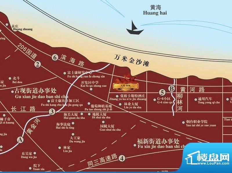 天马相城一期交通图