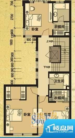 天马相城一期D2联排面积:107.00平米