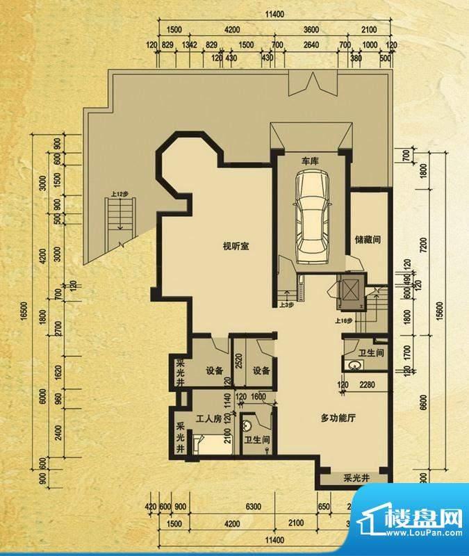 天马相城一期58号楼面积:554.15平米