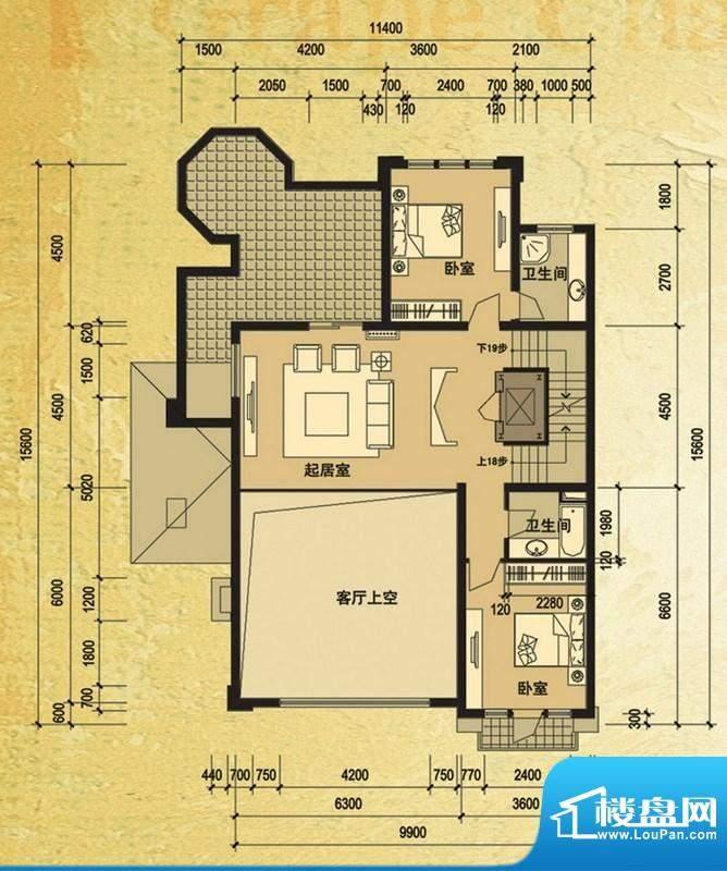天马相城一期58号楼面积:100.30平米